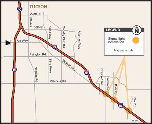 Tucson project Map