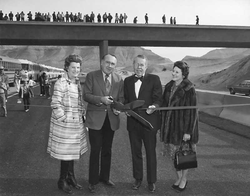 Highway dedication in 1973