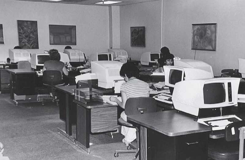 Lookback to offices at ADOT in the past.