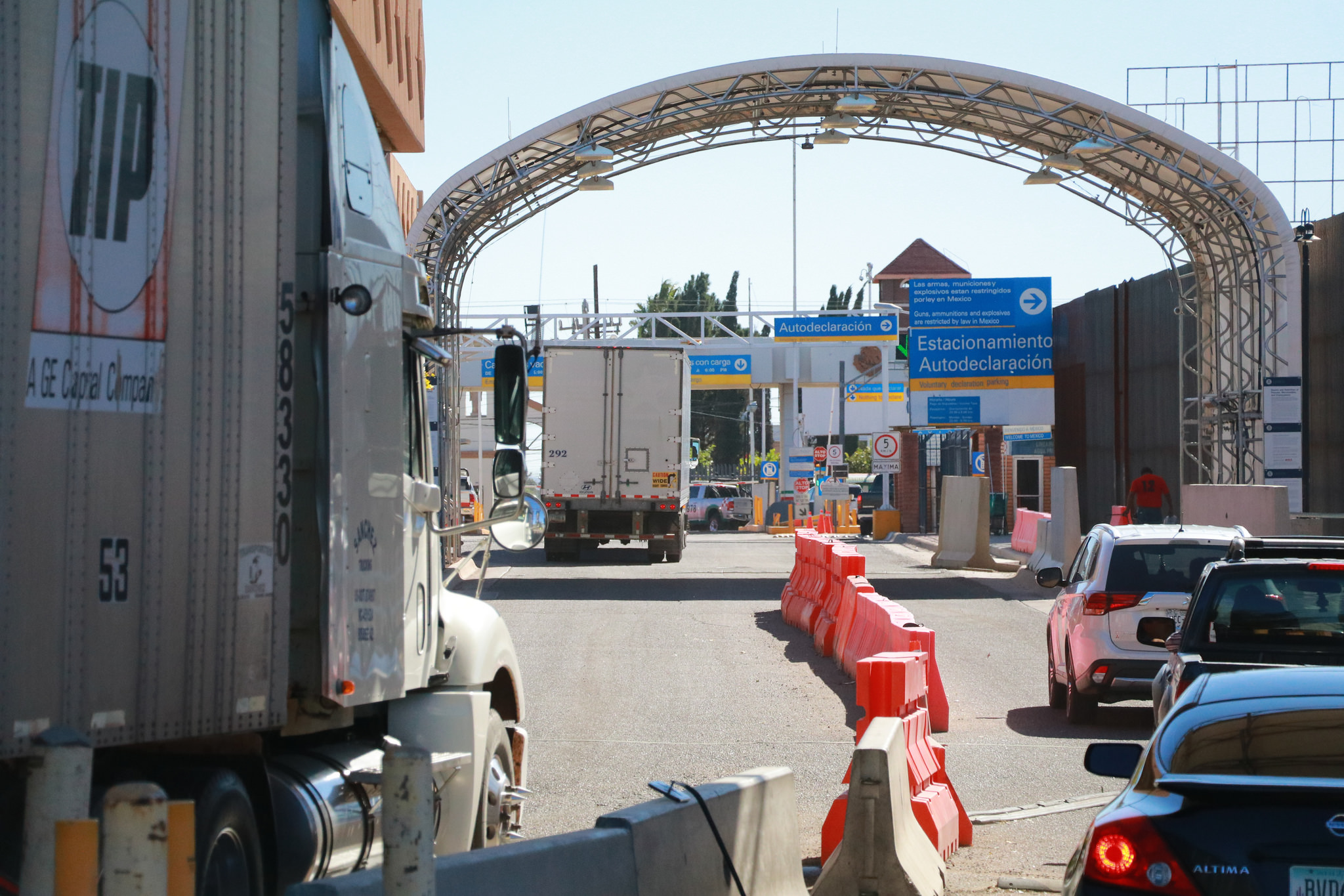 Douglas Port of Entry inspection point