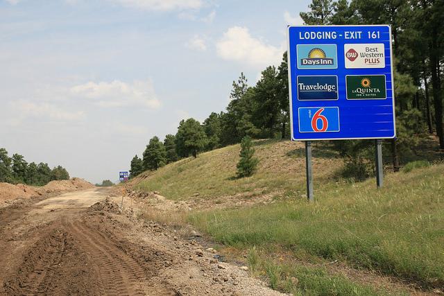 Logo Sign along I-40
