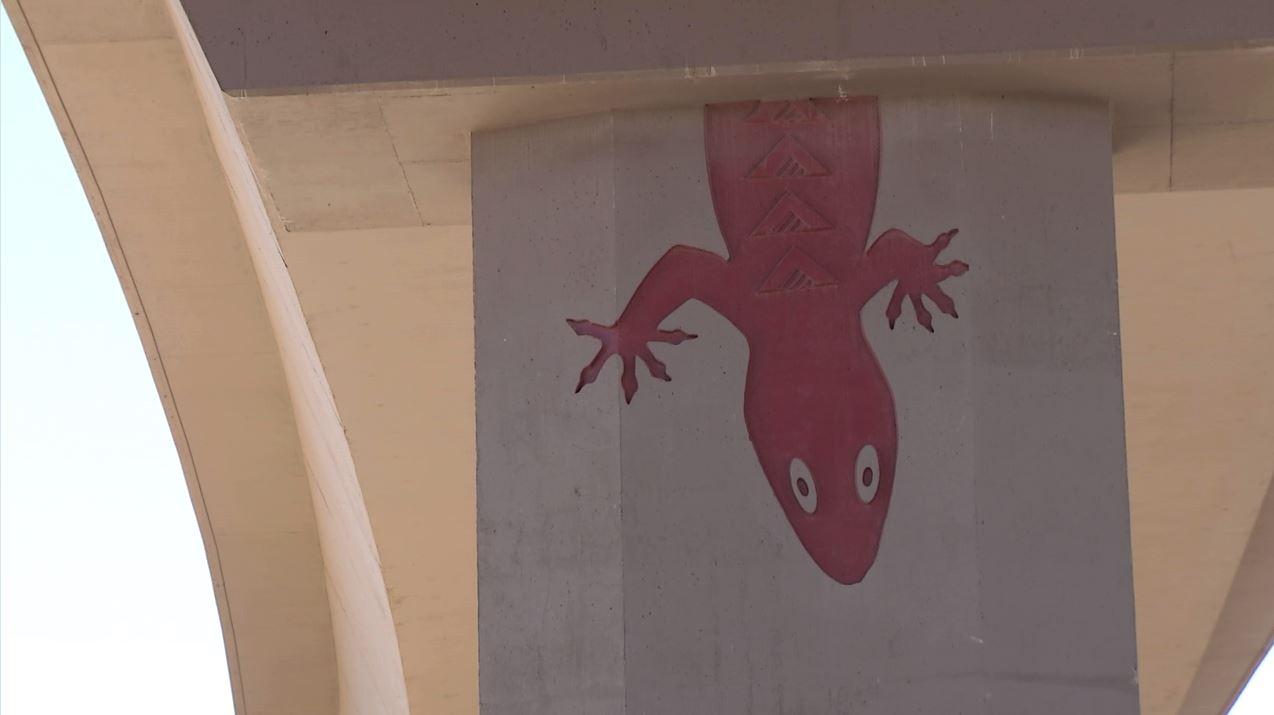 Ramp artwork includes a gecko