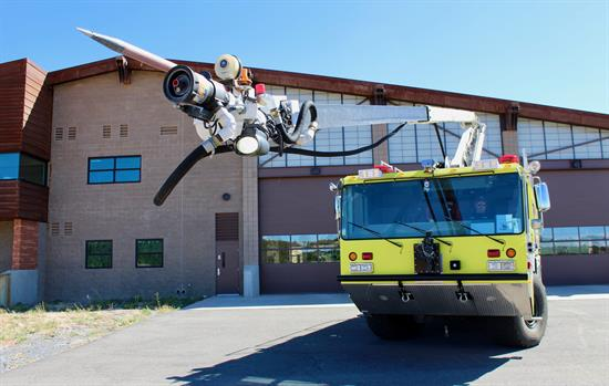 Grand Canyon National Park Airport fire station and fire truck
