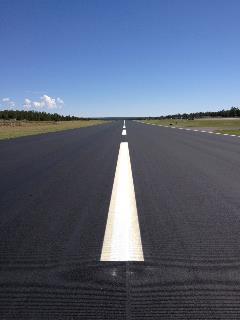 Grand Canyon National Park Airport runway