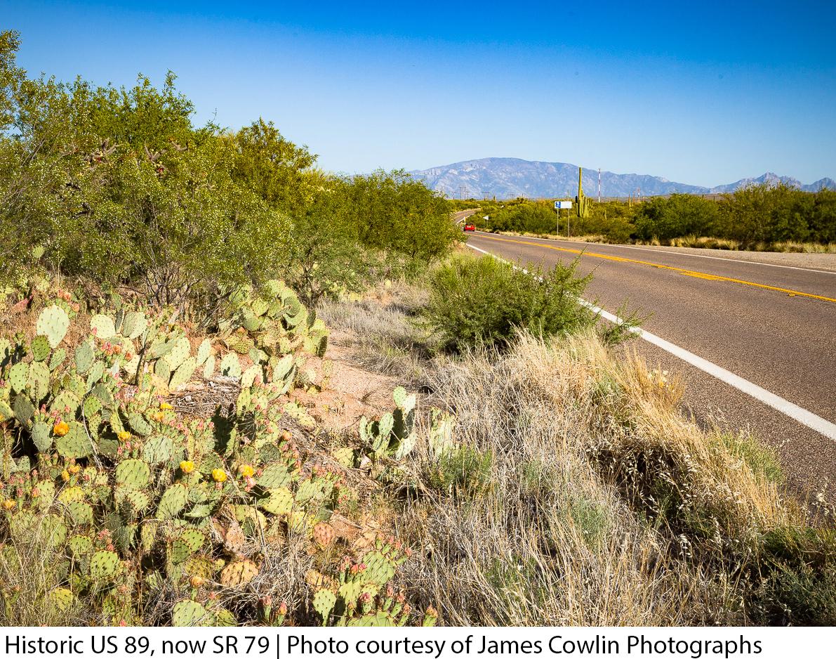 Historic US 89, now SR 79 | Photo courtesy of James Cowlin Photographs
