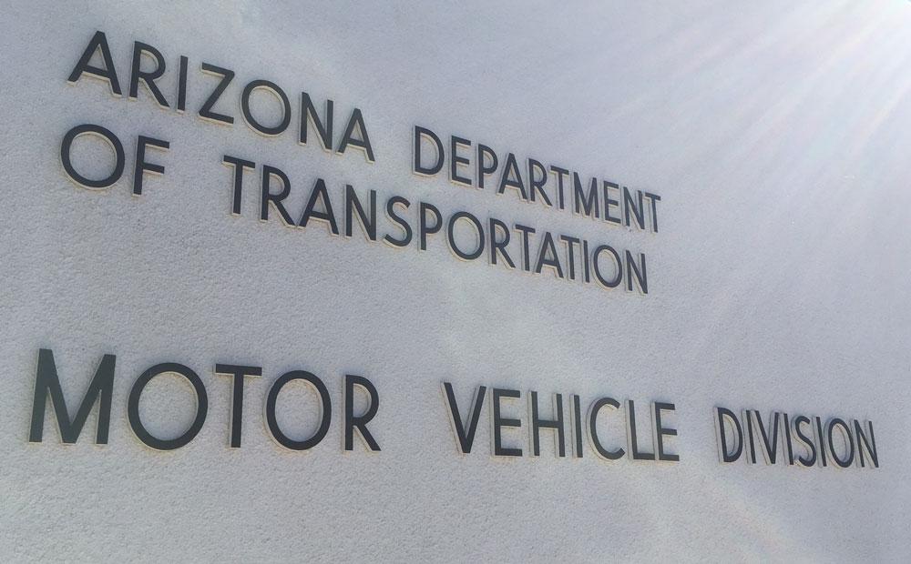 Arizona Department of Transportation Motor Vehicle Division