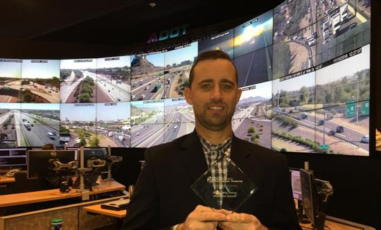 I-17 wrong-way vehicle alert system award