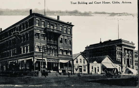 Trust Building and Court House, 1906