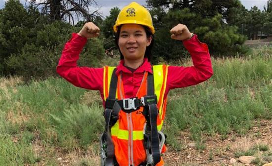 Engineer-in-Training Program participant Yudi Lei