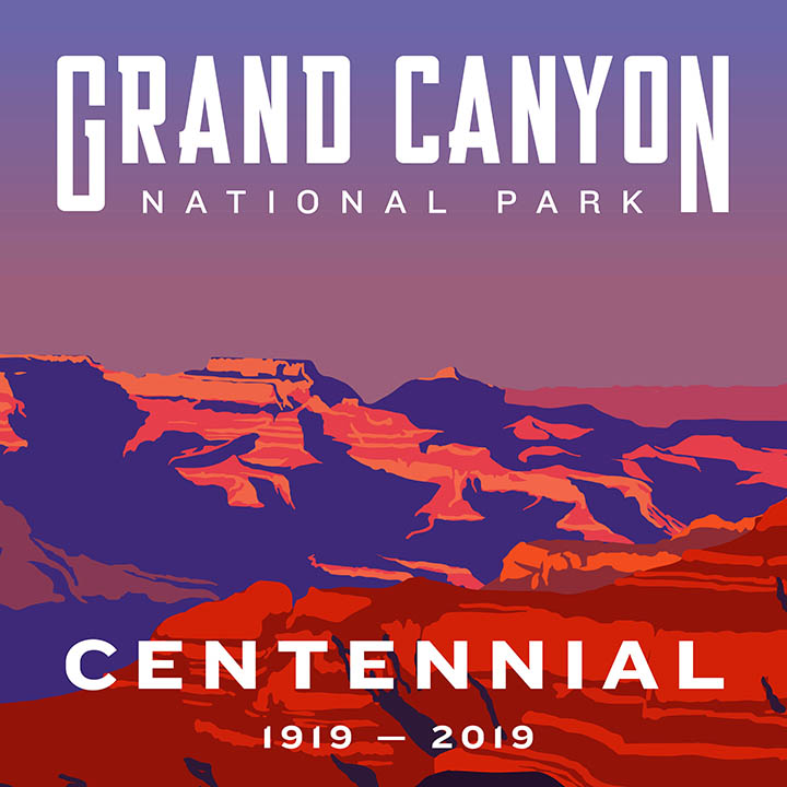 Grand Canyon Centennial Sign