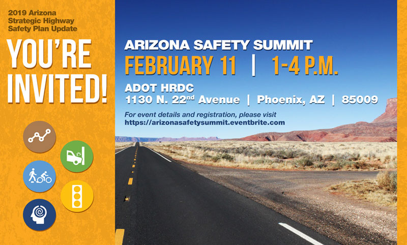 Arizona Safety Summit invitation