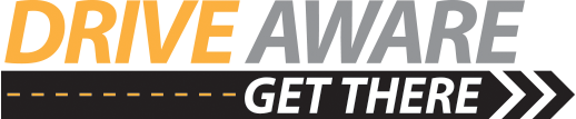 Drive Aware - Get There Logo