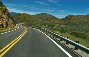 Copper Corridor Scenic Road (SR 77)