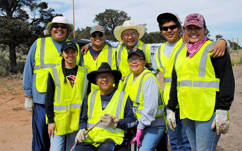 Adopt a Highways Volunteers - The Curtis Family