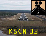 Grand Canyon Airport:  Approach 03
