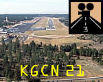 Grand Canyon Airport:  Approach 21