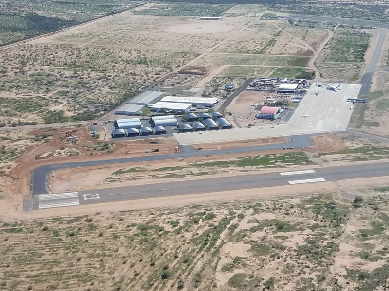 Coolidge Municipal Airport Aerial View