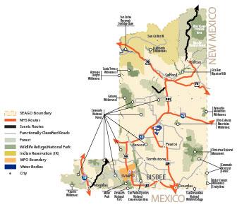 SEAGO map