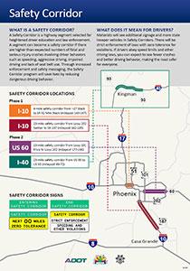 Safety Corridor Infographic Screenshot