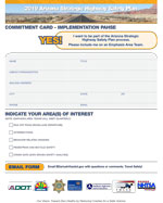 SHSP Commitment Card Screenshot