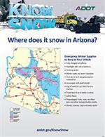 Where does it snow in Arizona? Infographic