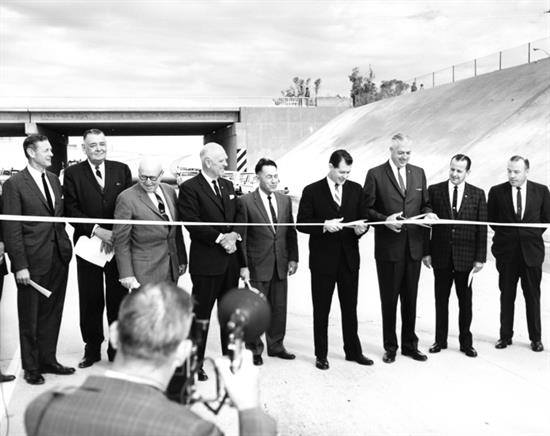 Ribbon cutting at I-17 opening ceremony