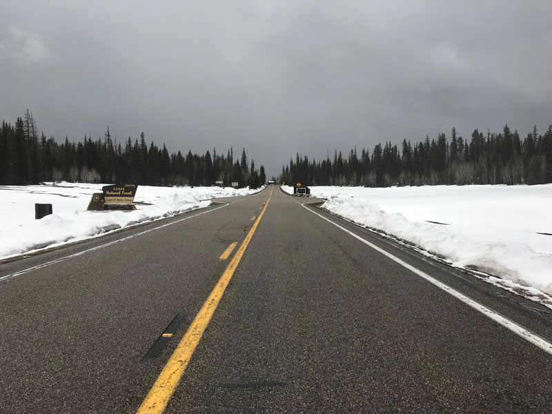 Scenic State Route 67 reopens, after being closed for the winter