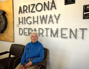 Frances Walker the first female engineer in the Arizona Highway Department.