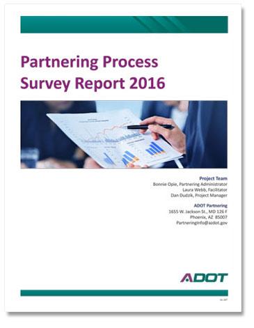 Partnering Process Survey Report 2016