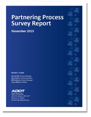 Partnering Process Survey Report 2013