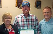Michael Sullivan accepting Spirit Award