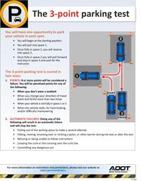 3-Point Parking Test