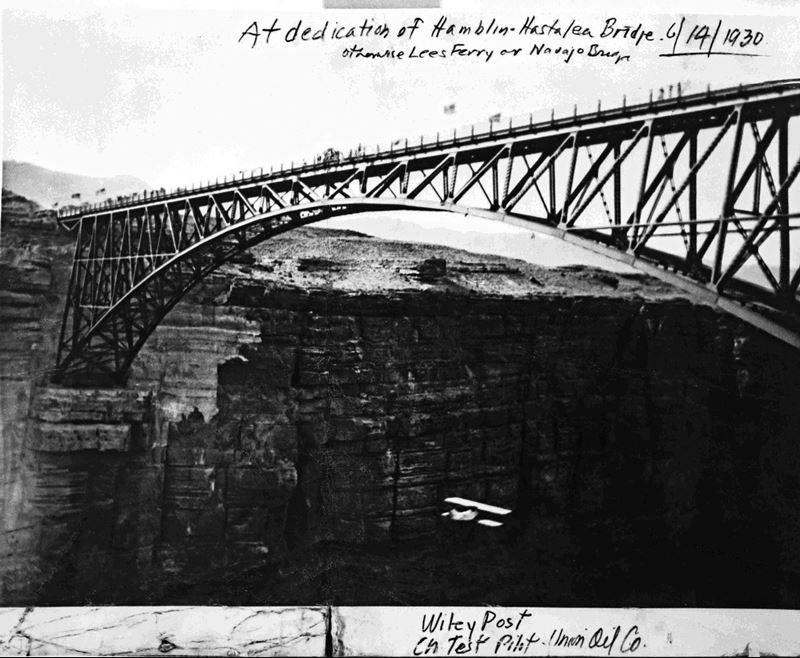 Archive photo of Navajo Bridge
