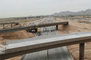 Loop 303 and I-10 Traffic Interchange - March 2014