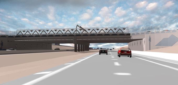Rendering of Ajo Way Traffic Interchange