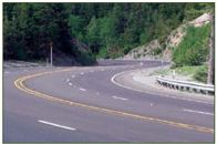 Example of Four Lane without raised median; photo courtesy of ADOT