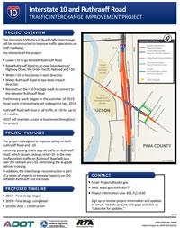 I-10 and Ruthrauff Road Fact Sheet