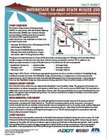 I-10/SR 210 Craycroft Project Fact Sheet