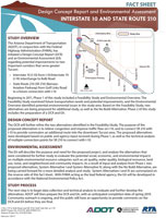 I-10/SR 210 Project Fact Sheet