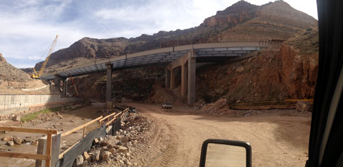 I-15 Virgin River Bridge Rehabilitation of Bridge 2