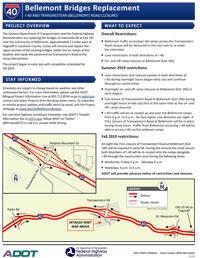 I-40 Bellemont Factsheet