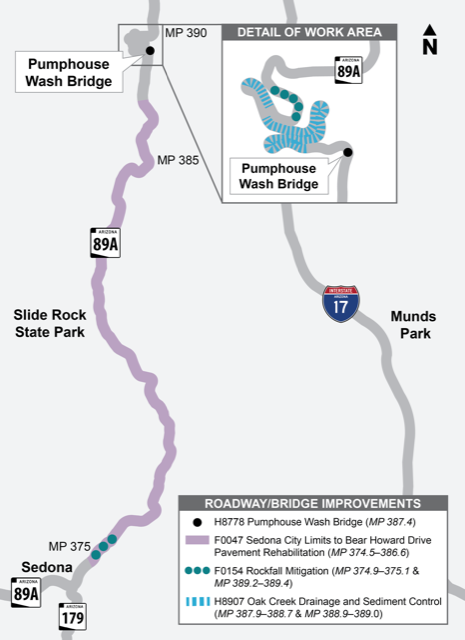 SR89A-Safety-Corridor-Improvements-Map