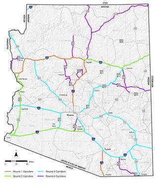Strategic Corridor Program Map