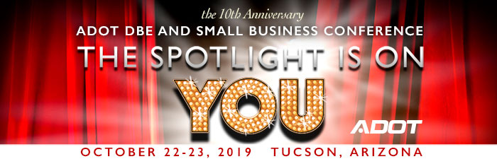 ADOT DBE and Small Business Conference promo