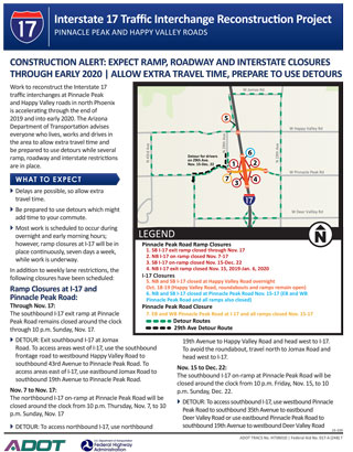 I-17 Traffic Interchange Reconstruction Project Flyer