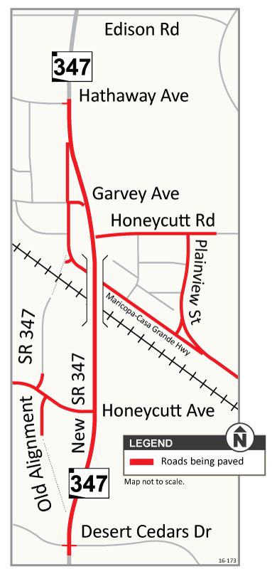 SR 347 Roads Being Paved