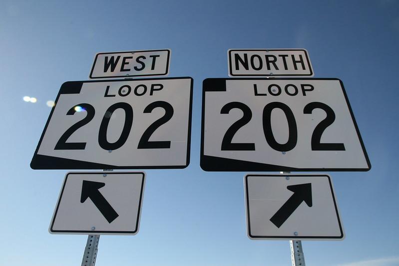 Loop 202 East and West