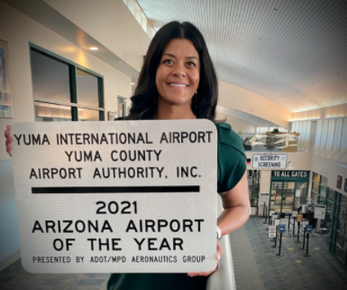 Yuma International Airport wins for 3rd Time