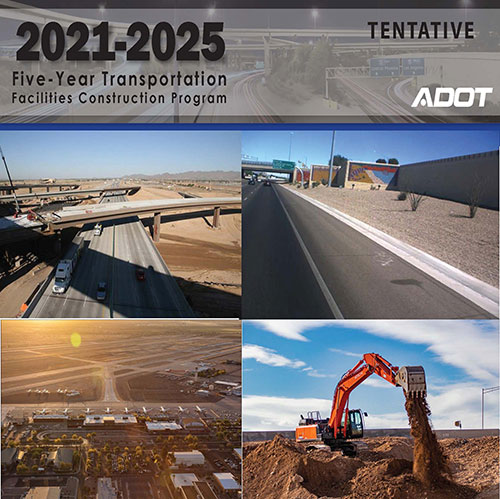 2021-2025 Tentative Five-Year Plan Cover
