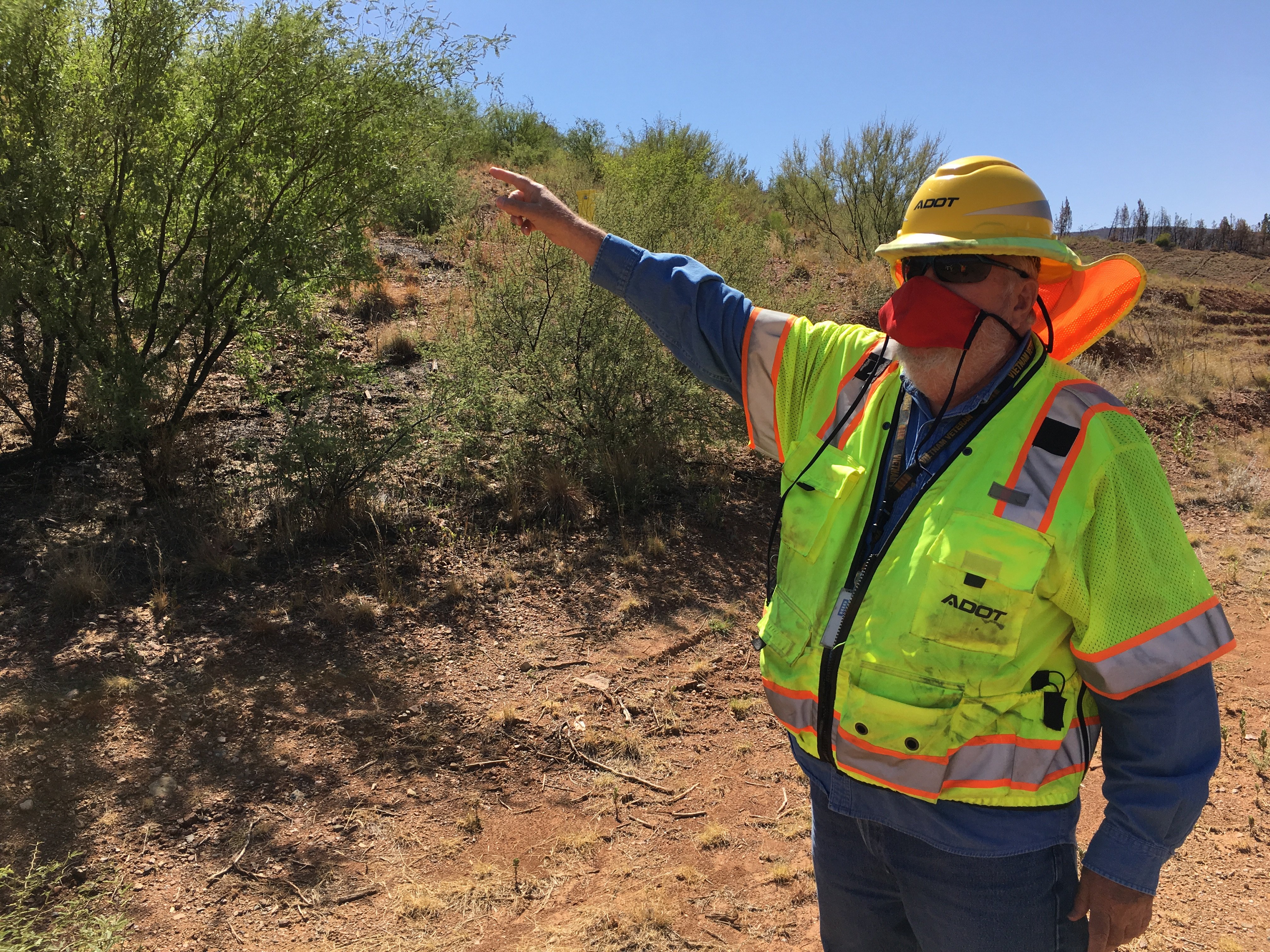 ADOT Geologist James Lemmon